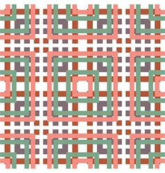 seamless lines pattern vector image vector image