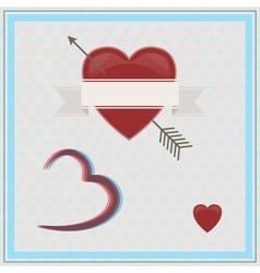 Happy Valentines Day 3D vector image