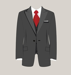 Man suit vector