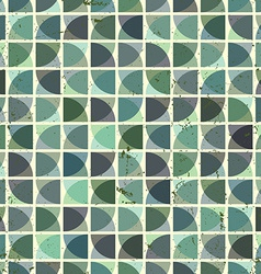 Vintage bright geometric seamless pattern squared vector