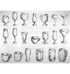 Cutlery set vector image