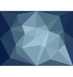 Low poly background dark blue polygonal vector