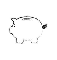 Piggy money savings vector