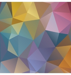 polygonal pattern abstraction vector image vector image
