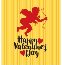 Happy valentines day vector