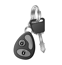 Autos key eps10 vector image