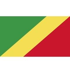 Congo flag image vector image vector image