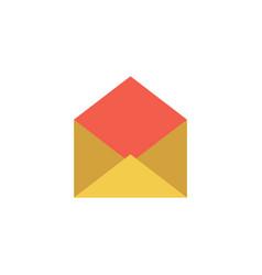 e-mail icon vector image vector image