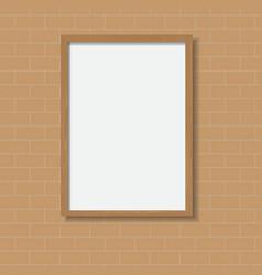 Frame wood vector