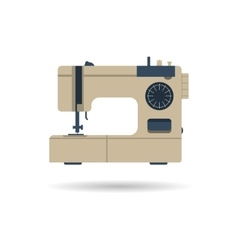 Sewing machine isolated vector