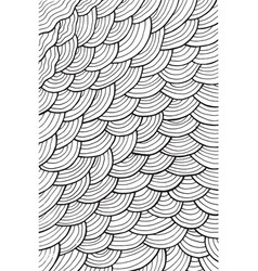 wavy pattern background - coloring page for adults vector image vector image