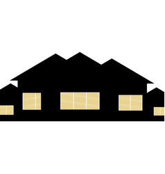 House concept house flat icon design your own vector