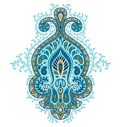 Indian ethnic ornament hand drawn ecorative vector