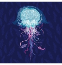 Magic Jellyfish vector image vector image