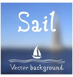 sail vector image vector image