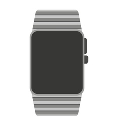 smartwatch wrist wearable icon vector image vector image