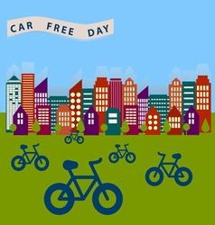 0115 4 car free day v vector