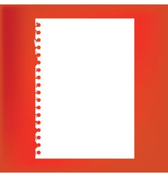 Blank pages vector