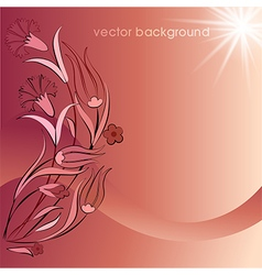 Decorative cover template sixty vector