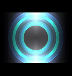 Circle wave abstract background vector