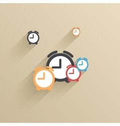 creative flat ui icon background Eps 10 vector image vector image