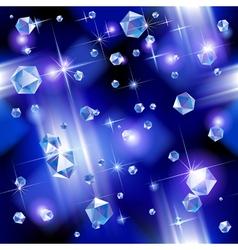 Diamond background vector