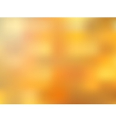 Golden blurred abstract bright background vector image