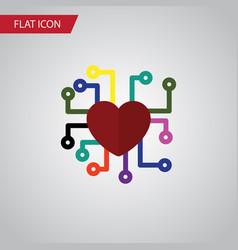 Isolated feeling flat icon emotion element vector