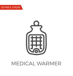 medical warmer icon vector image