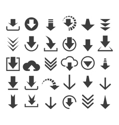 Download file icons vector