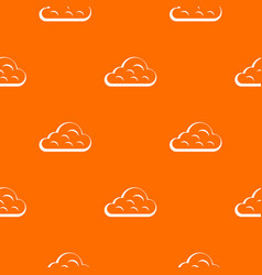 rainy cloud pattern seamless vector image vector image
