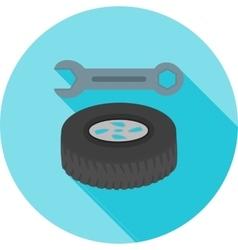 Tyre repair vector