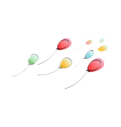 The balloons vector