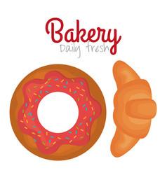 bakery product always fresh vector image