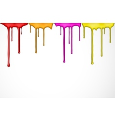 Colorful paint vector image