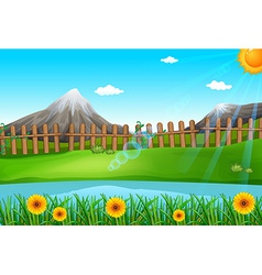 A beautiful environment vector image vector image