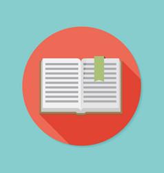 book icon vector image vector image
