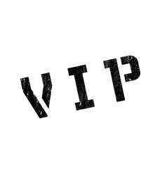 Vip rubber stamp vector