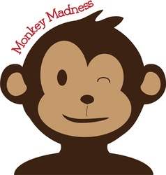Monkey madness vector