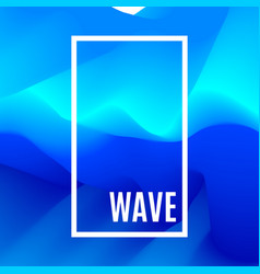 abstract design creativity background of blue vector image vector image
