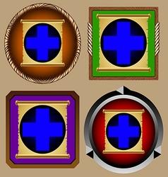 Icon scroll vector