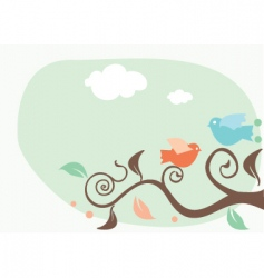 Artistic nature vector