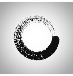 Round Stroke Frame vector image