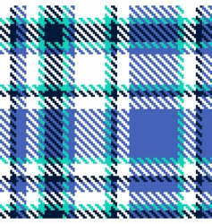 seamless abstract checkered vector pattern vector image