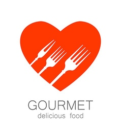 Gourmet delicious food vector