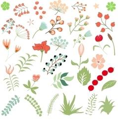 Flower clipart vector