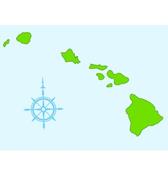 Hawaii vector image