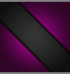 mesh background with purple corners vector image