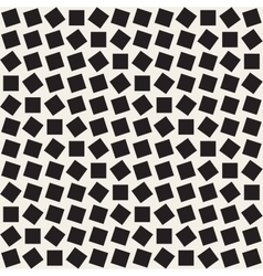 Seamless Black And White Square Rhombus vector image vector image