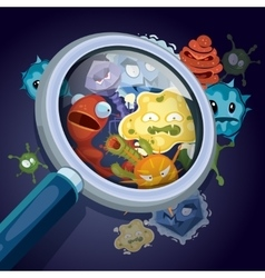 Microorganism microscopic bacteria pandemic vector